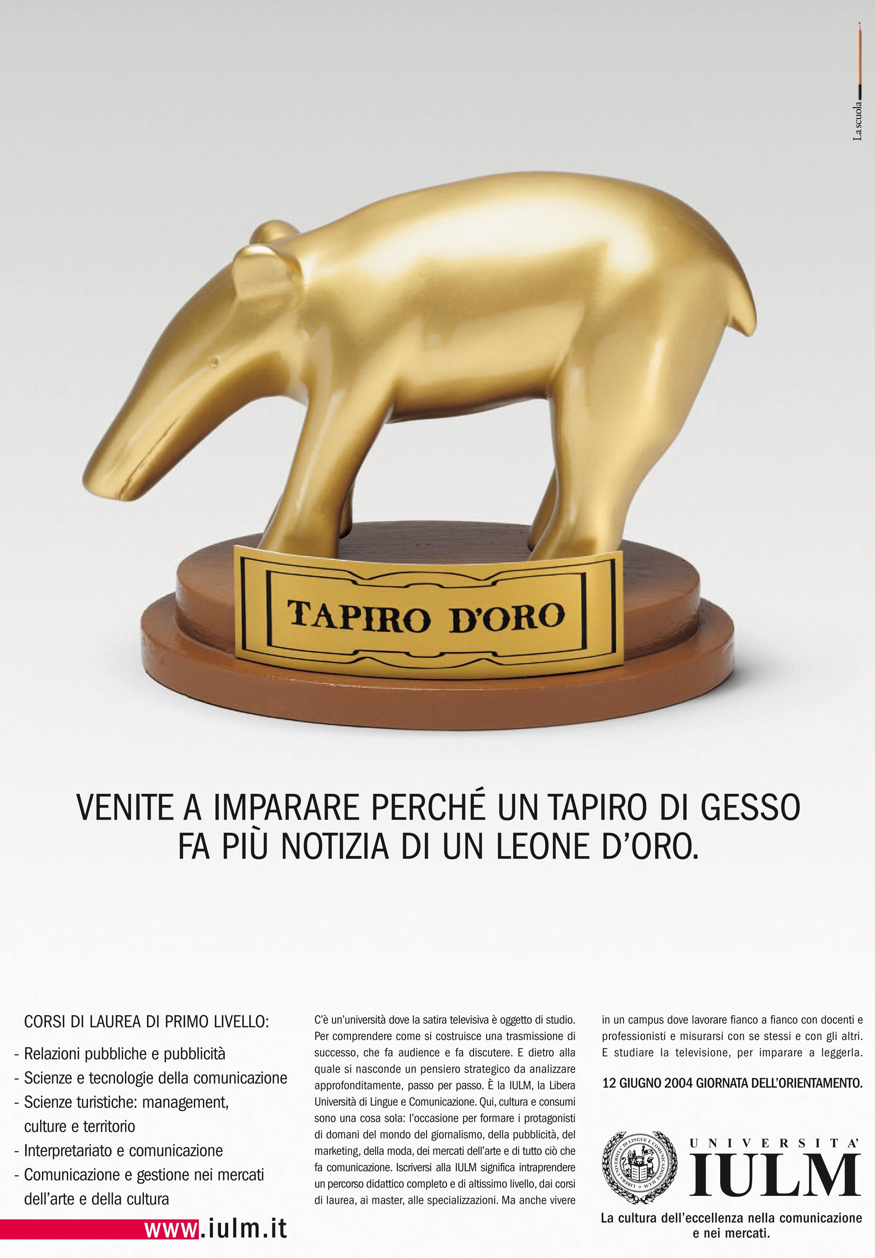 iulm tapiro